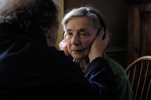 <b>Best foreign language film nominees:</b> <i>Amour</i> is a French drama written and directed by Michael Haneke, starring Jean-Louis Trintignant, Emmanuelle Riva and Isabelle Huppert.