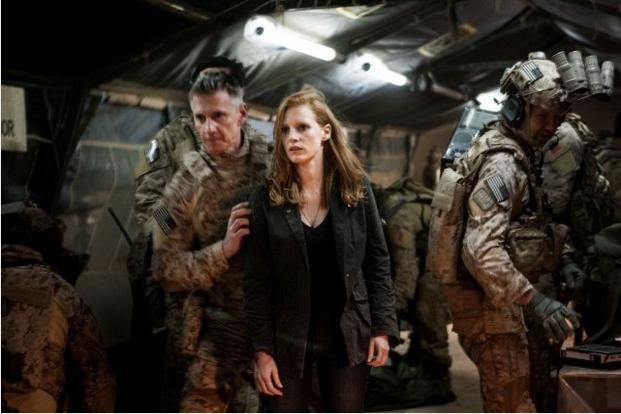 The Osama bin Laden hunt movie <i>Zero Dark Thirty </i>by director Kathryn Bigelow also bagged four nominations each including those for best director, best motion picture &ndash; drama and best actress (Jessica Chastain),