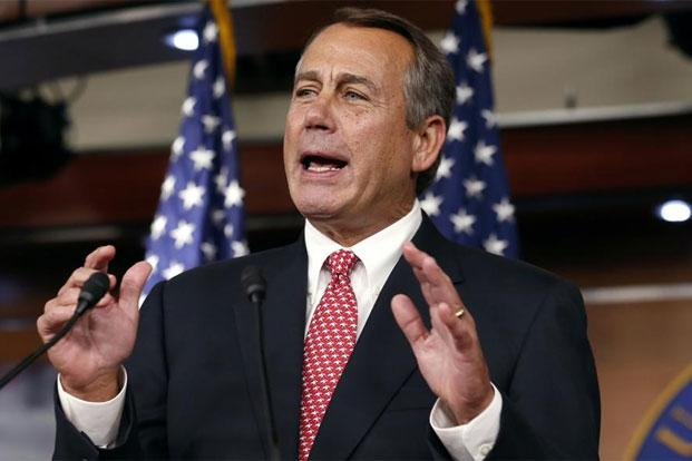 The John Boehner offer was the first departure from the position the US House of Representatives Speaker has held for months. Photo: Reuters