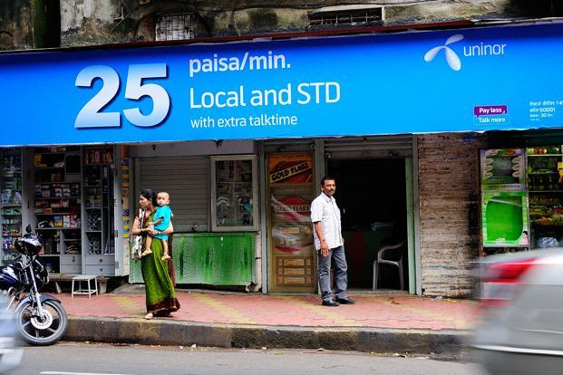 According to Trai, Uninor has 5.6 million subscribers, of which 57% are active, in Kolkata and West Bengal. Photo: Priyanka Parashar/Mint