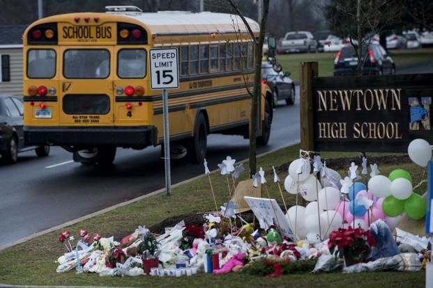 Sandy Hook Elementary School Crime Scene