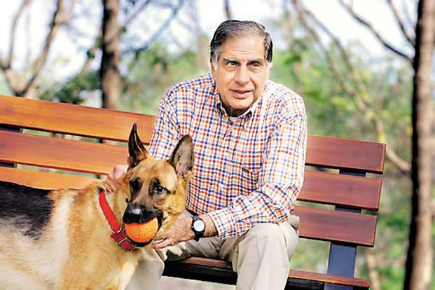Ratan Tata's fondness for fast cars, aeroplanes and his pets are well known. He intends to pursue these passions after retirement. Photo: Fawzan Husain