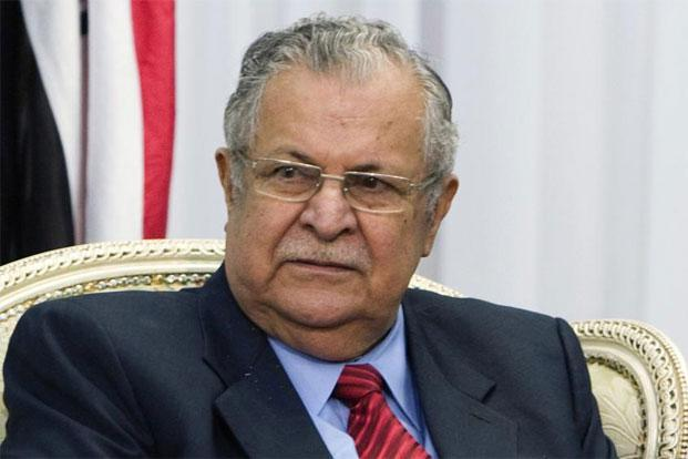 A file photo of Iraq's President Jalal Talabani. Photo: Reuters
