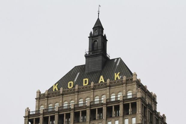 Kodak filed for bankruptcy after years of burning through cash while the rise of digital photography eroded its film business. Photo: AFP
