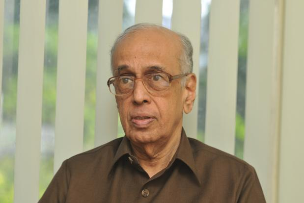 Shriram Group founder R. Thyagarajan said the process to identify the person who will be chairman of Shriram Venture is on. Photo: R. Chandru/Mint