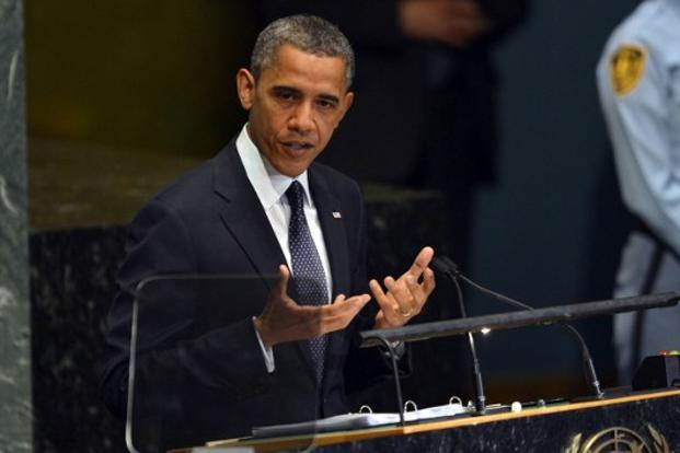 The gun-control debate may give an opening to US President Barack Obama, who said he hoped the National Rifle Association gun lobby would reflect on the Connecticut tragedy. Photo: AFP
