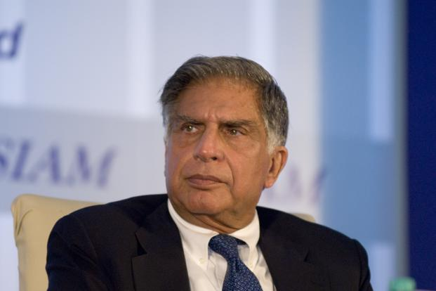 Ratan Tata. Photo: Mint