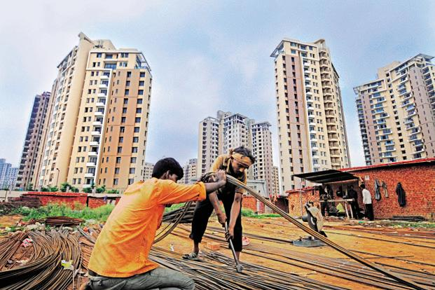 There have been private equity fund exits to the tune of $288 million in the real estate sector so far this year, down from $457.32 million in 2011, according to VCCEdge. Photo: Ramesh Pathania/Mint