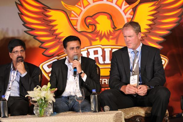 The Sunrisers name and logo were officially unveiled in Hyderabad on Thursday.