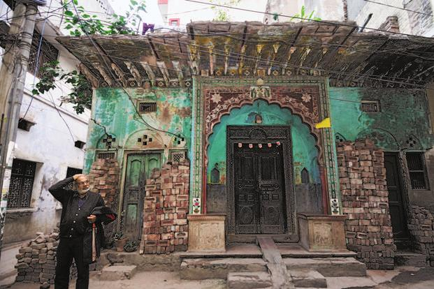 A haveli at Khampur village. Photo: Pradeep Gaur/Mint