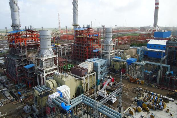 A file photo of Essar Energy operations at Vadinar.
