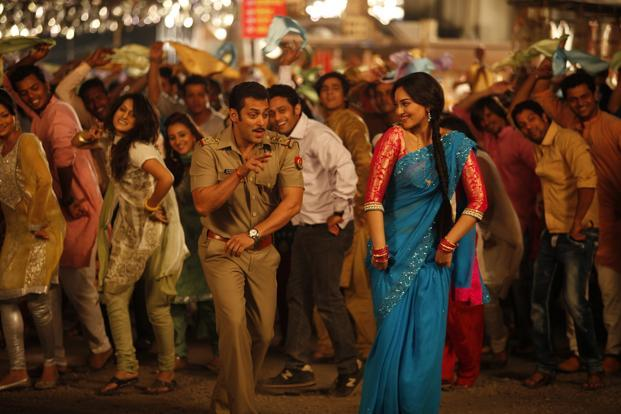 Salman Khan's performance lacks inventiveness and Sonakshi Sinha seems inspired