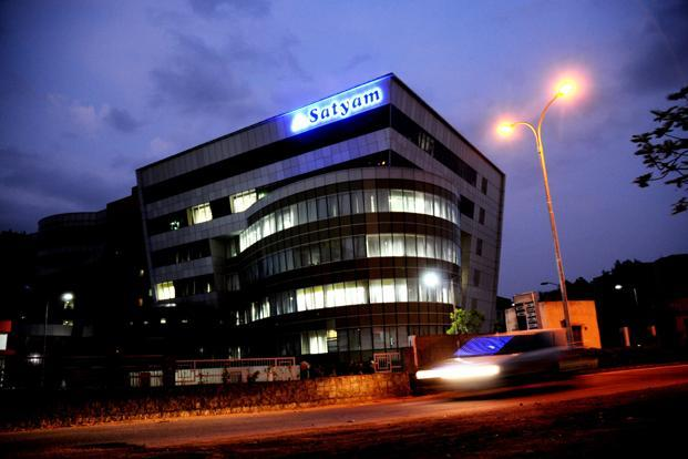 A file photo of the Satyam Computer corporate office in Hyderabad. Photo: Mint