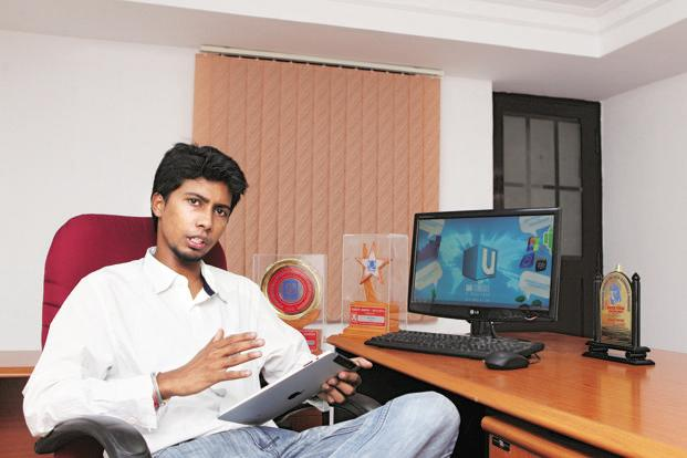 UMM Studios proprietor and creative head Santhosh Palavesh. Photo: SaiSen/Mint