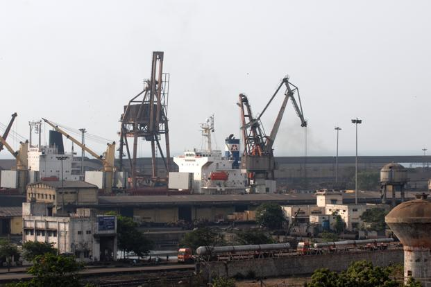 A file phot of Chennai port. For Adani, fresh security clearance was necessitated because the firm has of late been denied security clearance by the government. Photo: Hemant Mishra/Mint