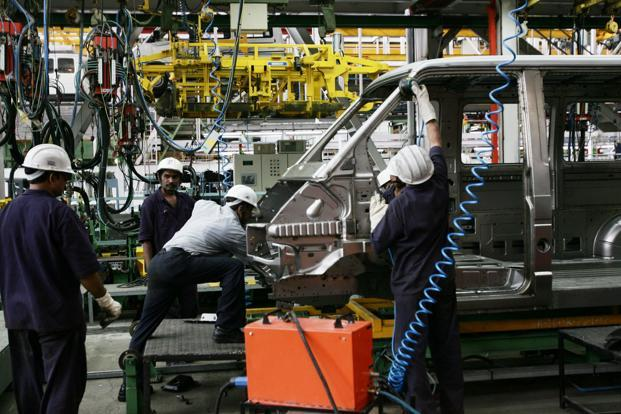 Tata Motors' Pimpri facility in Pune. Tata, a global name since it bought Jaguar Land Rover in 2008, is losing traction at home. Photo: Hindustan Times