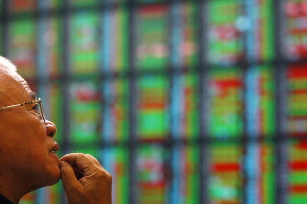 Taiwan shares were up 0.1% on gains in technology shares and financial heavyweights, while Shanghai shares were down 0.3% in early trade. Photo: Reuters