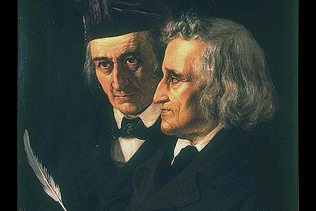 The Grimm brothers. Photo: Wikimedia Commons.
