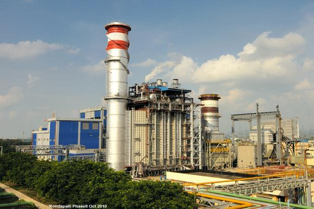 Shares of Lanco gained 7.42% to close at `13.46 on Monday on BSE, while the benchmark Sensex rose 0.07%. A file photo of Lanco Infratech power plant.