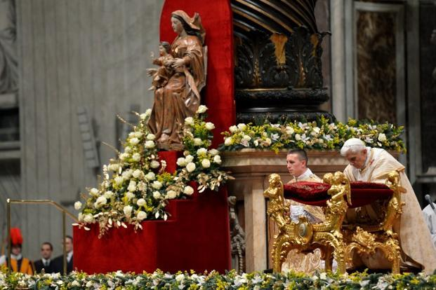 Pope Says Denying God No Path To Peace In Christmas Eve