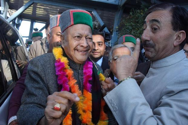 A file photo of Virbhadra Singh. Photo: HT