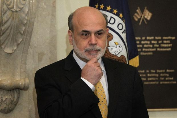 A file photo of Ben Bernanke. Photo: AFP