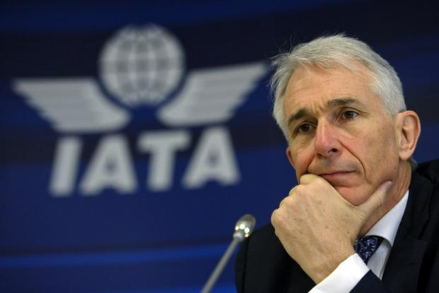 A file photo of International Air Transport Association chief Tony Tyler. Photo: AFP