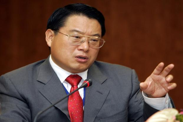 A 2006 photo of Chinese vice-finance minister Li Yong in Hyderabad, India. Photo: AFP