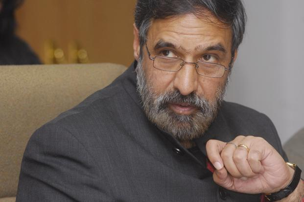 A file photo of trade minister Anand Sharma. Photo: Ramesh Pathania/Mint