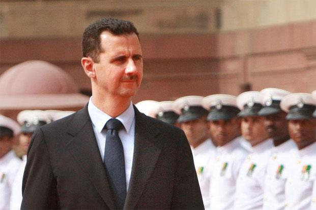 A file photo of Syria's President Bashar al-Assad. The high-level defection will be a blow to morale for Assad's forces.  Photo: Arvind Yadav/Hindustan Times