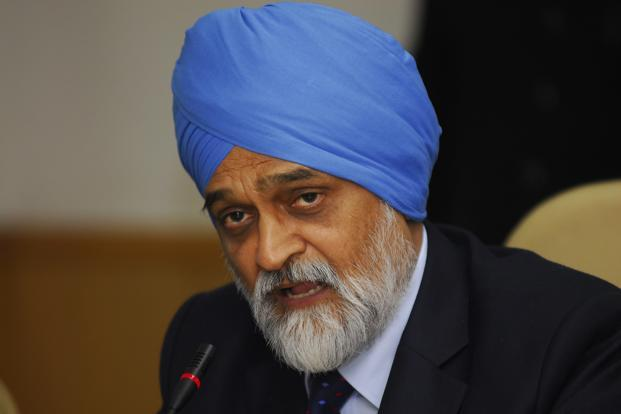 Deputy chairman of Planning Commission Montek Singh Ahluwalia. The 12th Plan draft—Faster, more inclusive and sustainable growth—currently targets an average growth rate of 8.2% and sets 24 other targets. Photo: Priyanka Parashar/Mint