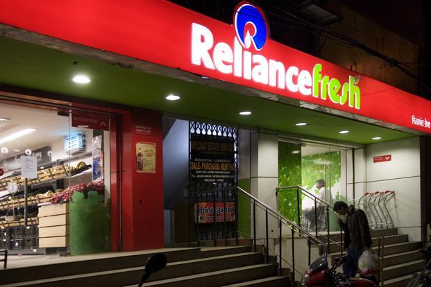 A file photo of a Reliance Fresh store in Green Park, New Delhi. Reliance is seeking to expand its retail operations at a time when competitors such as Pantaloon Retail have been rationalizing space and focusing more on improving their efficiency. Photo: Mint
