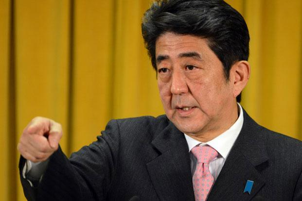 Shinzo Abe has promised aggressive monetary easing by the Bank of Japan and big fiscal spending by the debt-laden government to slay deflation and weaken the yen to make Japanese exports more competitive. Photo: AFP