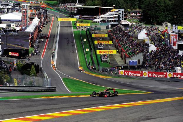 The Circuit de Spa-Francorchamps, Belgium. Photo: AFP (AFP)