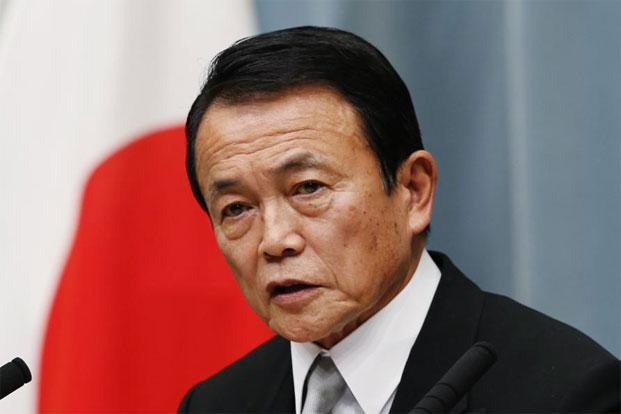 Japan's finance minister Taro Aso said the government needs to make public finances sustainable in the medium to long term. Photo: Reuters