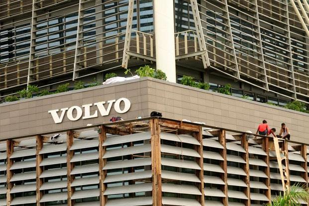 Swedish luxury car maker Volvo target sales of 20,000 units by 2020 in India. Photo: Pradeep Gaur/Mint