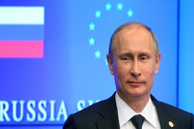 Putin mounted a firm defence of the measure Thursday despite protests from Washington. Photo: Ria-Novosti/AFP