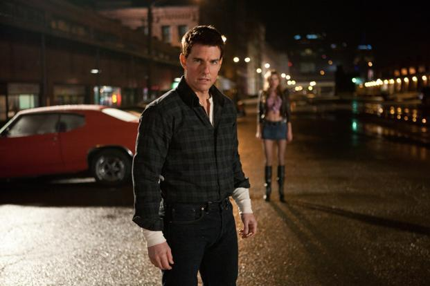 Tom Cruise in a still from Jack Reacher