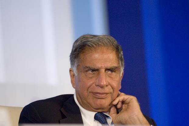 "An emotional Ratan Tata recounted the ""amazing spirit"" and ""dedication"" of the people who, under his leadership, helped the Tata group achieve revenue in excess of $100 billion (the first Indian conglomerate to do so; around `5.5 trillion today), an increase of 20 times in as many years. Photo: Mint"