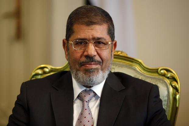 A file photo of Egypt President Mohamed Mursi. Photo: Reuters