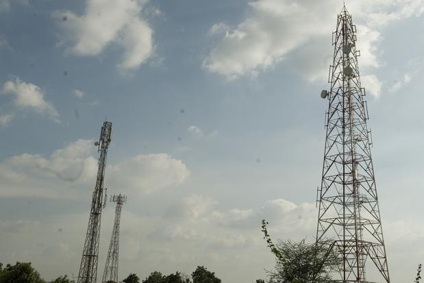 Bharti Infratel shares slumped 13% on its listing day on Friday, weighed by cautious outlook for the mobile tower operator. Photo: Mint