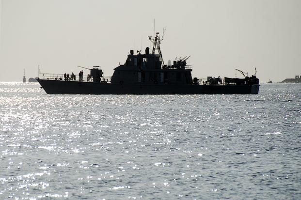 A 8 December photo of an Iranian navy warship at Port Sudan in the Red Sea. Photo: Reuters
