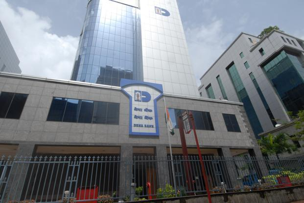 A file photo of Dena Bank corporate office in Mumbai. Photo: Hemant Mishra/ Mint