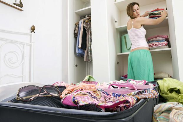 I began packing my bags, frightened, insecure but stuffing things in a suitcase with fake-bravado back would mean killing every singe thing that's 'me' in me. Photo: THINKSTOCK