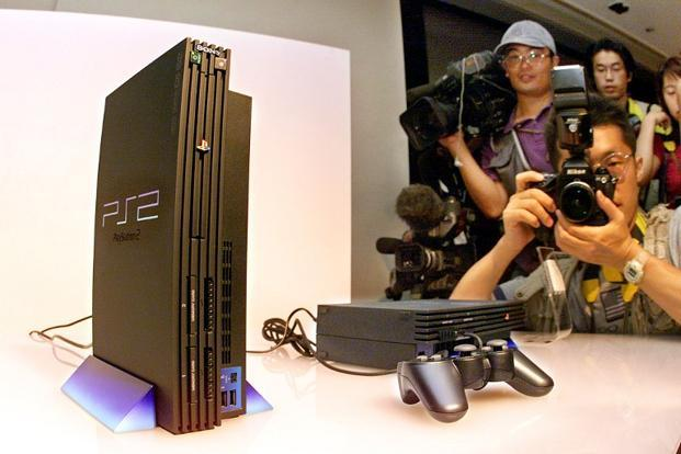 A file photo of the PlayStation 2. Photo: AFP