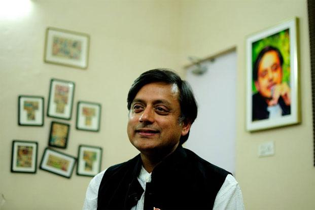 Union minister of state for human resources development Shashi Tharoor had on Tuesday favoured making public the identity of the gang-rape victim. Photo: Pradeep Gaur/Mint