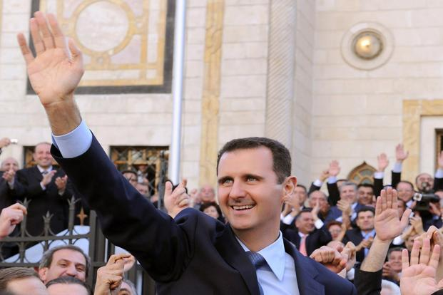 A file photo of Syrian President Bashar al-Assad. The analysis shows a steady increase in the average number of documented deaths per month since the beginning of the conflict. Photo: Syrian Arab News Agency via AFP