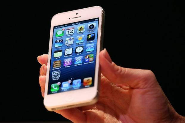 A file photo of the iPhone 5. Photo: Justin Sullivan/ AFP