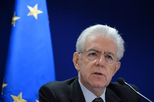 Initial polls suggest Monti's bloc could gain up to 16% of the vote, depriving rivals of a clear win, but not enough to govern. Photo: AFP