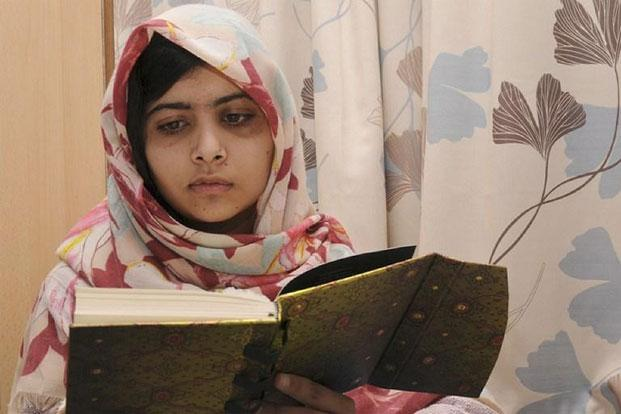 A file photo of Pakistani activist Malala Yousafzai. Photo: AFP